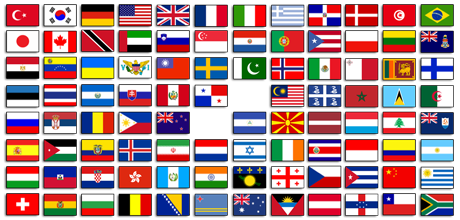 Flags of the world for iPhone Radyo